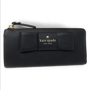 Kate Spade Nisha Robinson Street Leather Wallet